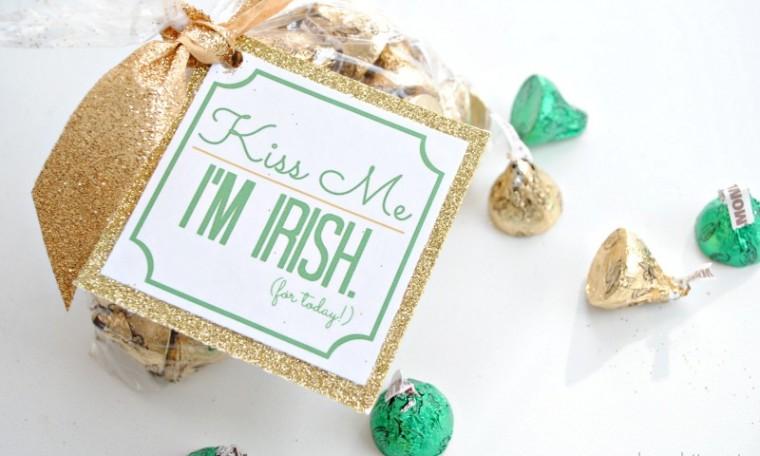 Kiss me I'm Irish – St. Patrick's Day Gift Idea