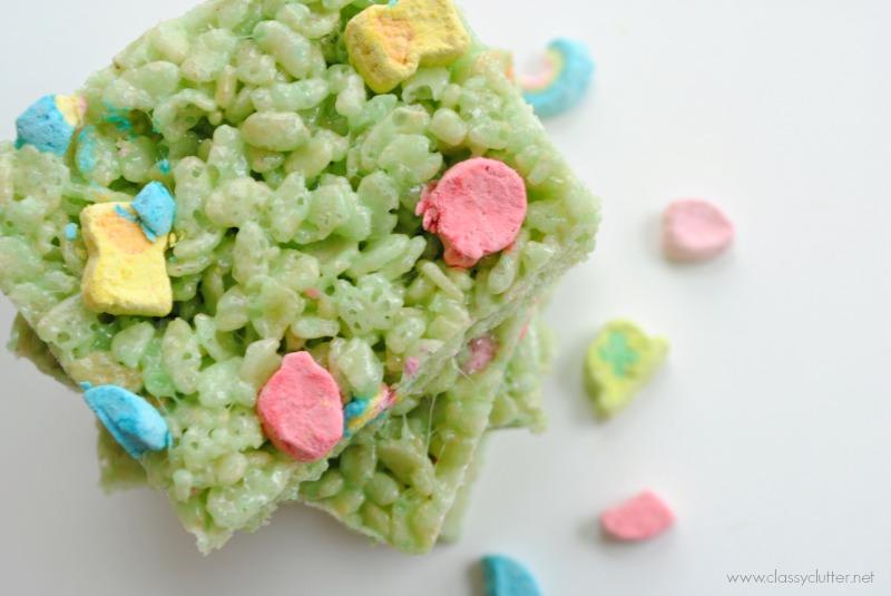 Lucky Rice Krispie Treats 2