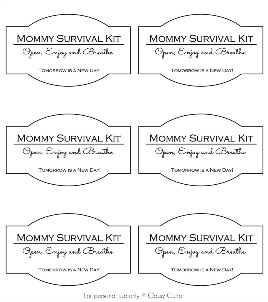 image about Printable Survival Cards referred to as Do it yourself Gl Initiatives Giftables - Website page 2