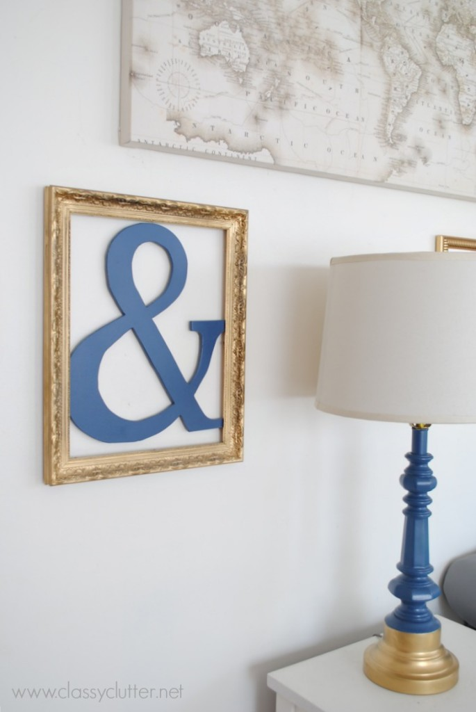 Navy Ampersand