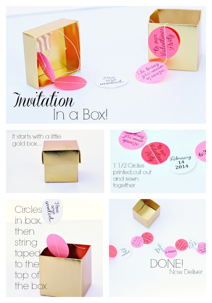 diy party invitation