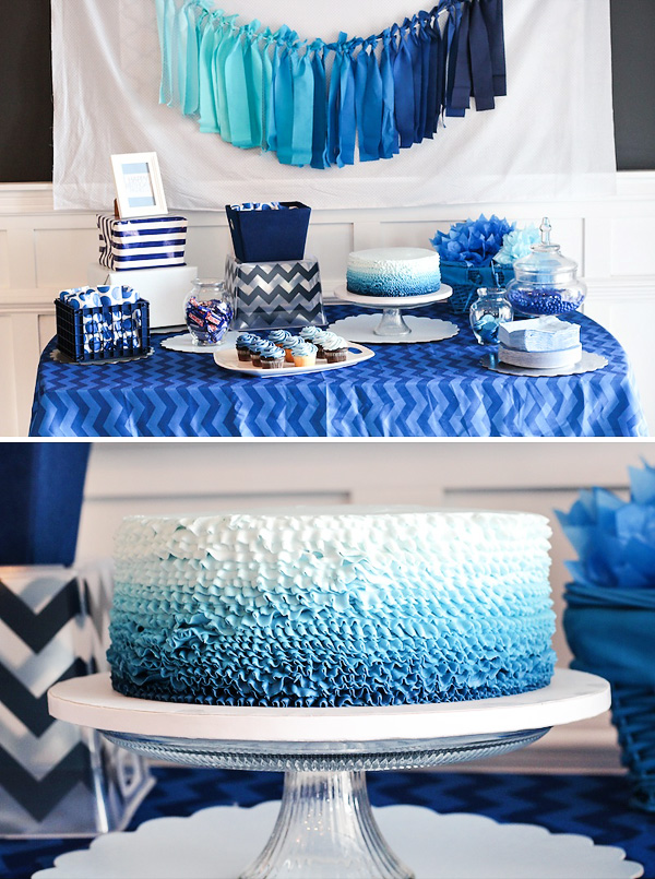 blue-ombre-dessert-table-cake
