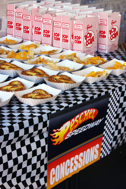Diy Race Car Birthday Concession Stand