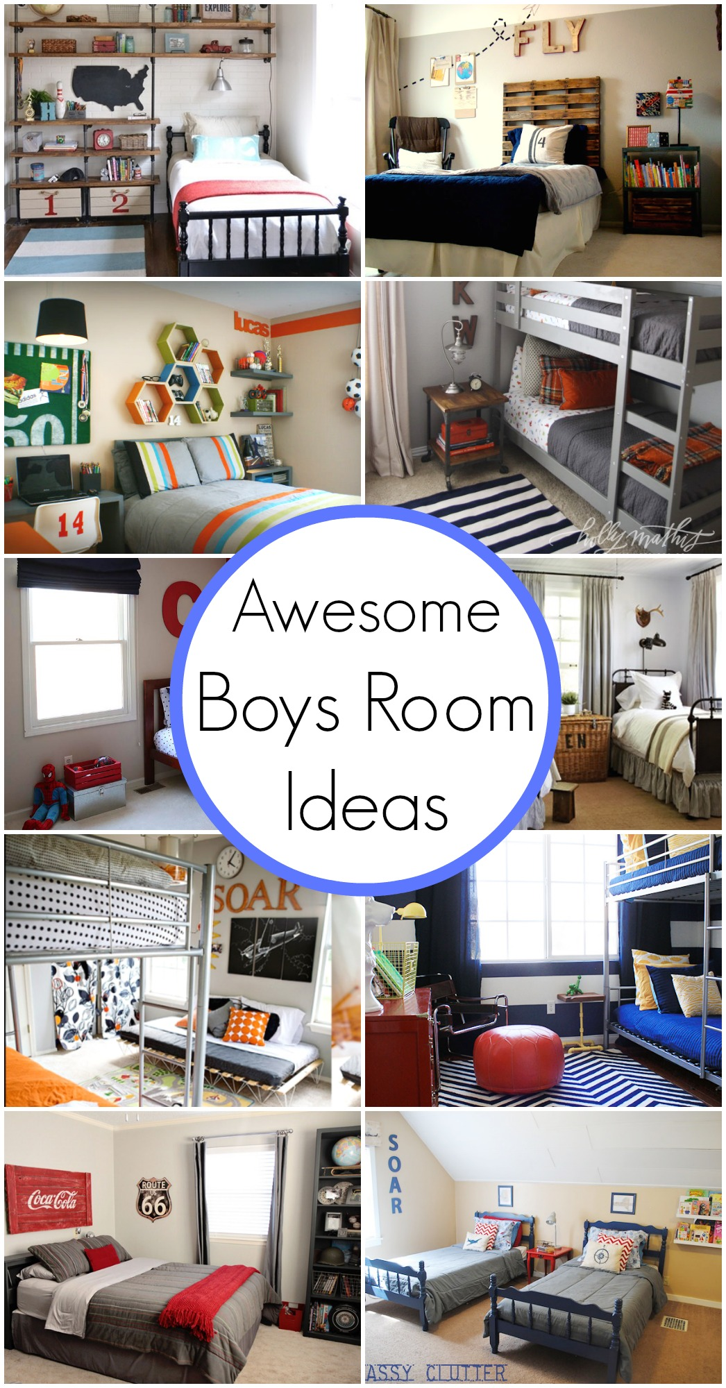 10 Awesome Boy\'s Bedroom Ideas - Classy Clutter