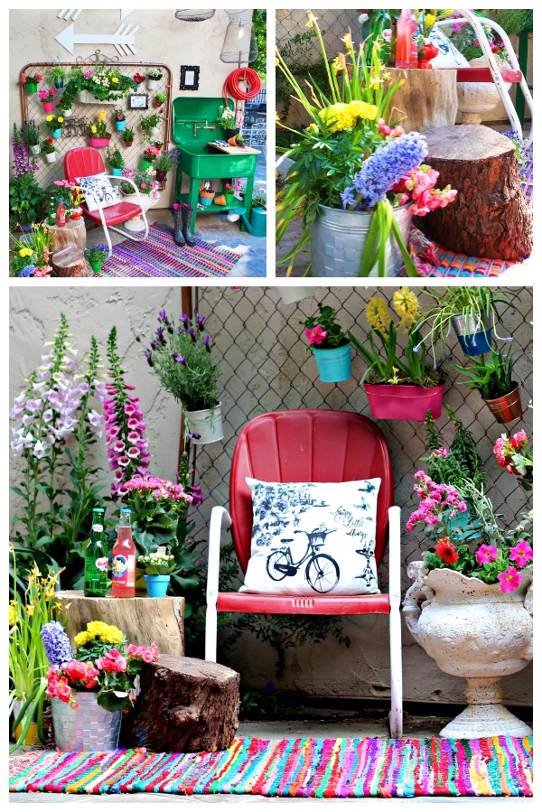 Trash to Treasures Garden Space 2