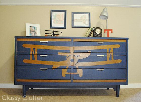 Bi Plane Dresser