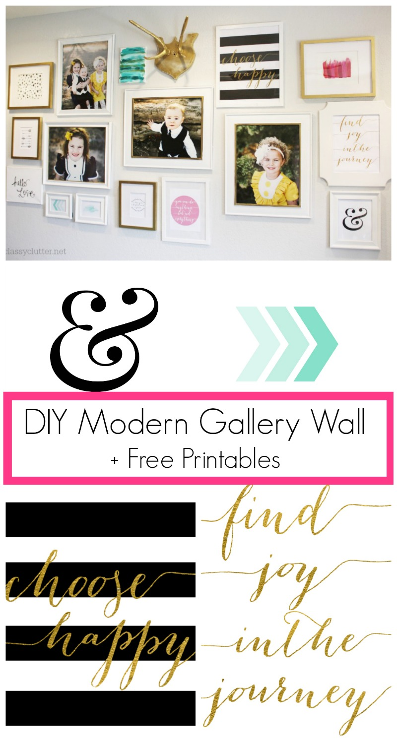 This is a picture of Unforgettable Gallery Wall Printables