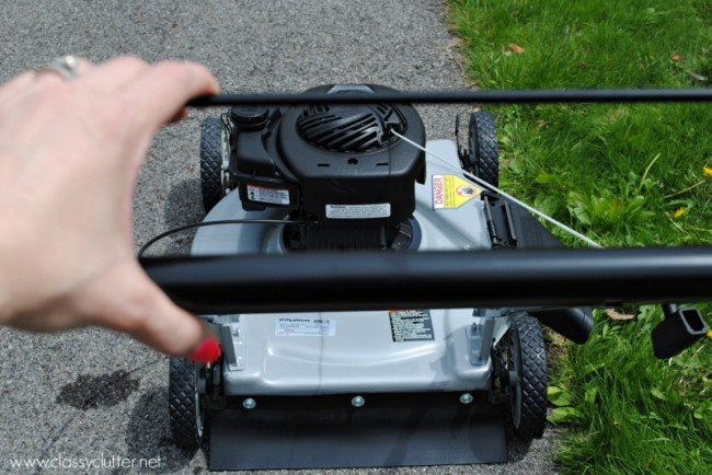 How to mow the lawn 5
