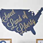 Sweet Land of Liberty - DIY Wood Wall Art