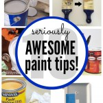 10 seriously awesome Painting Tips & Tricks that are borderline genius! | www.classyclutter.net