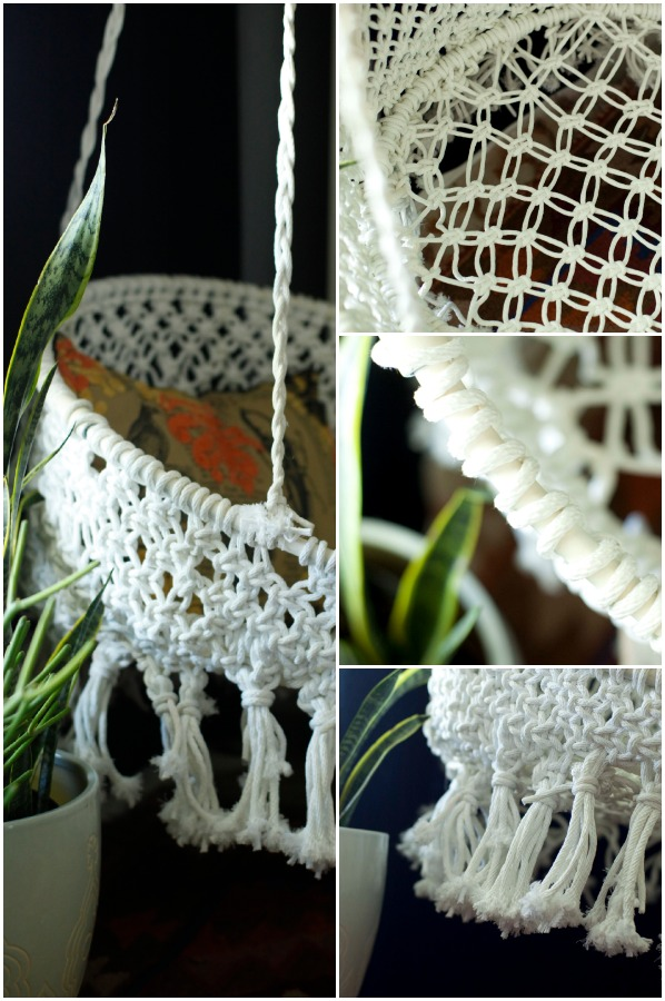 if you love the macrame look but don t want to do this chair check