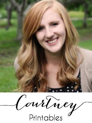 Courtney - Printables