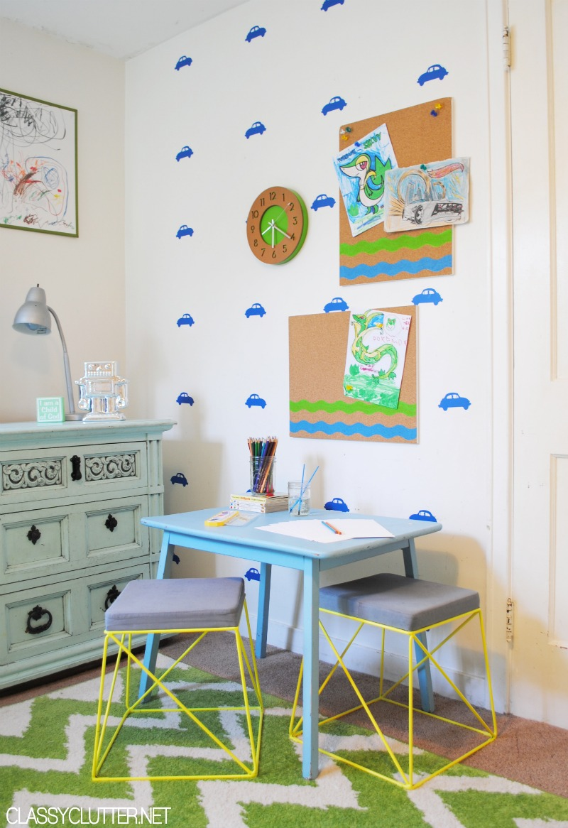 DIY Kids Art Station 2