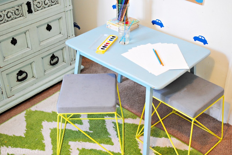 DIY Kids Art Station 3