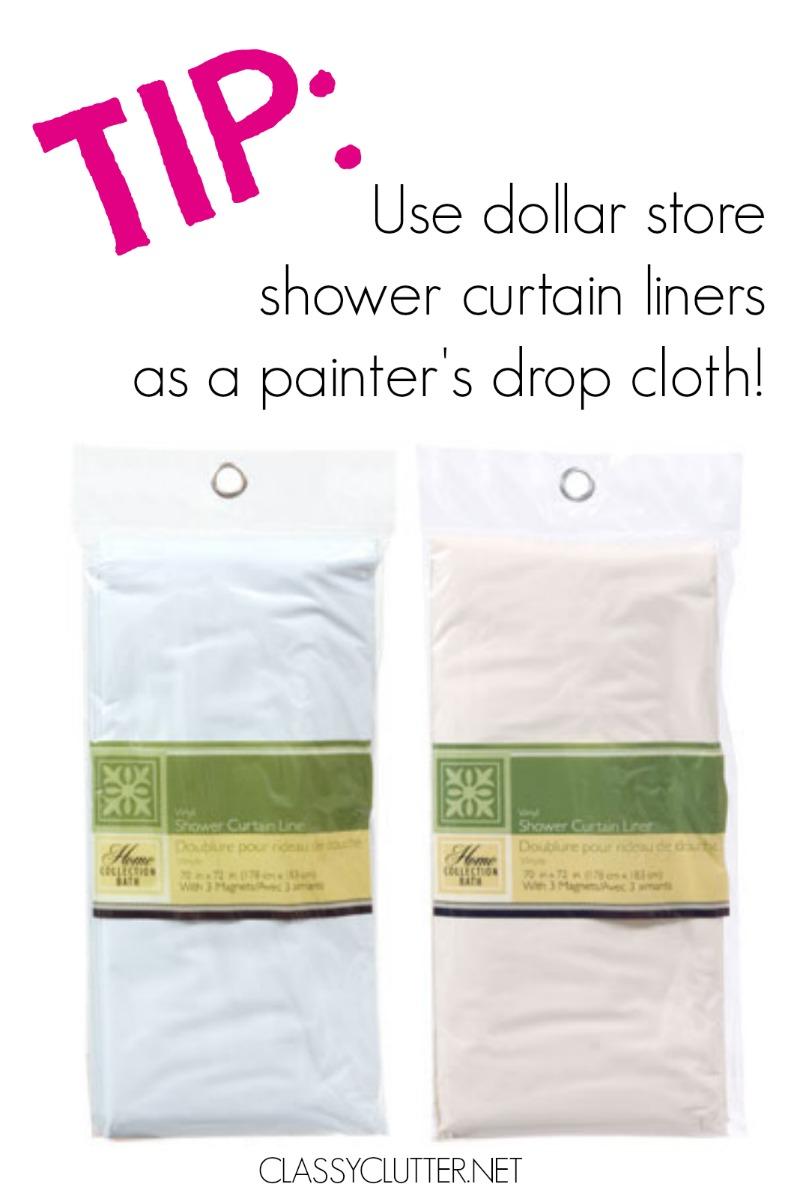 Drop Cloth Tip