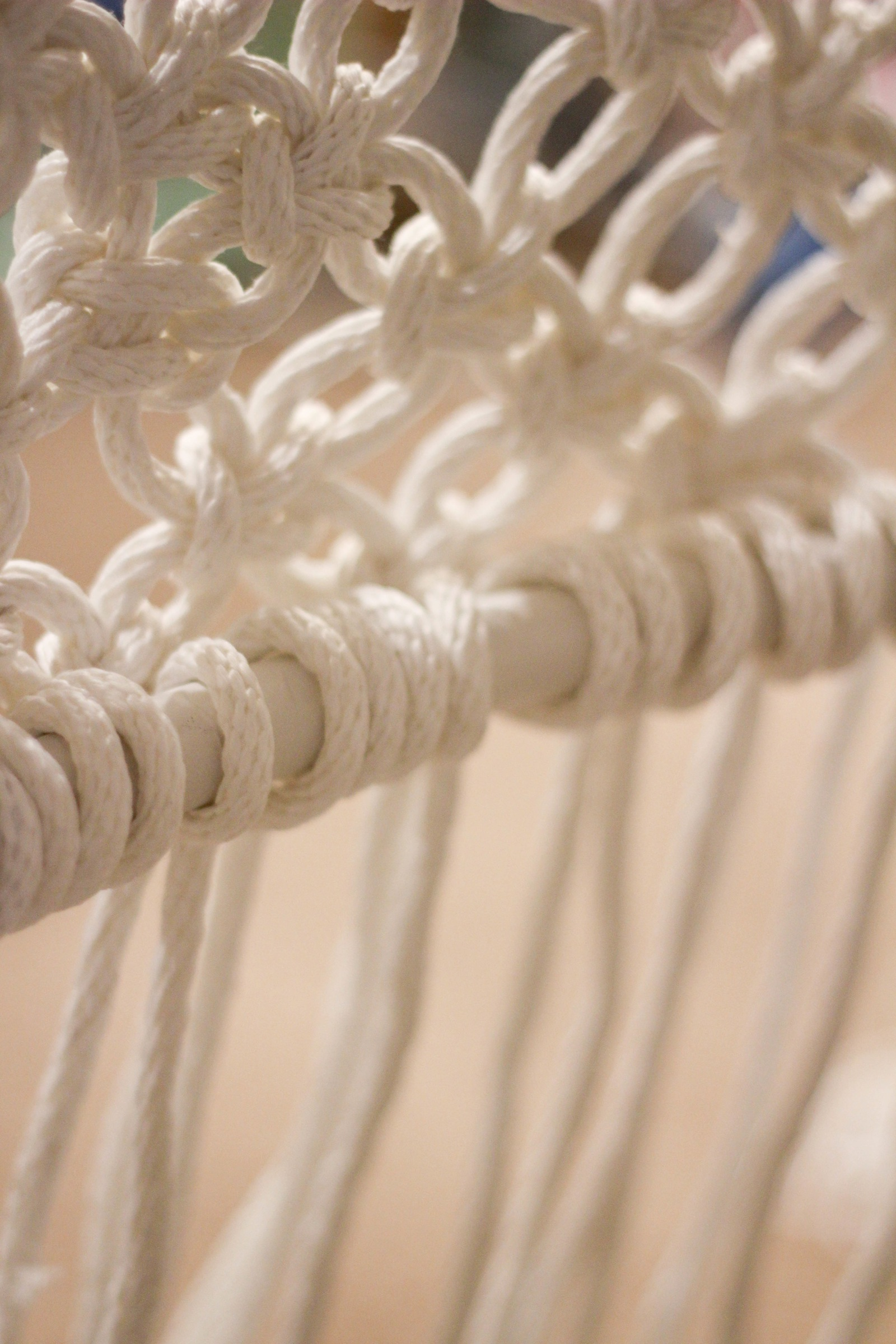 Superb Diy Hanging Macrame Chair Ibusinesslaw Wood Chair Design Ideas Ibusinesslaworg