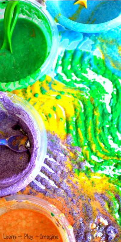 Kool Aid Sand Paint (1)