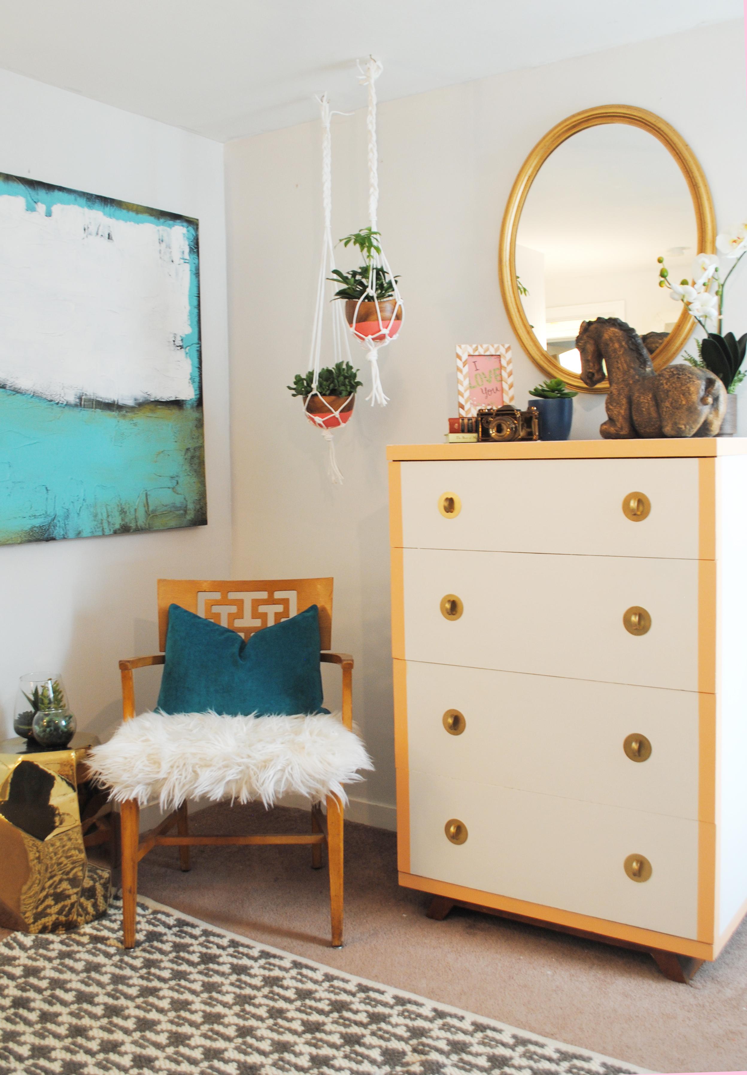 Master Bedroom Makeover form Classy Clutter