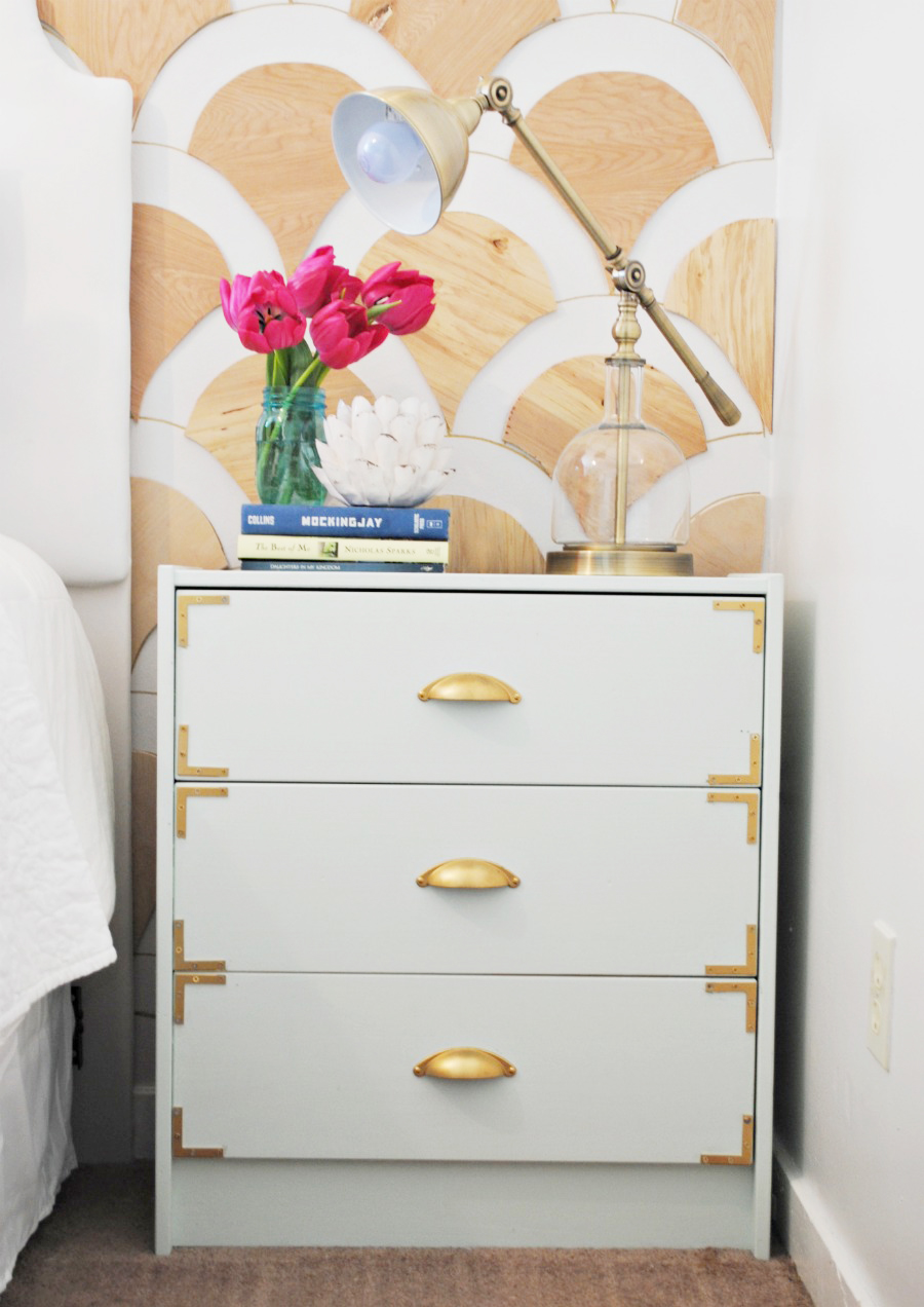 Campaign Style Nightstands - Ikea Rast Hack