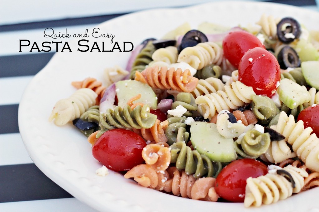 quick and easy pasta salad recipe