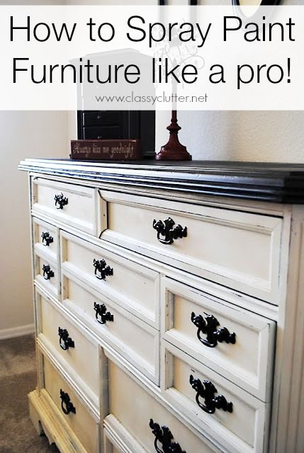 how to spray paint like a pro. Black Bedroom Furniture Sets. Home Design Ideas