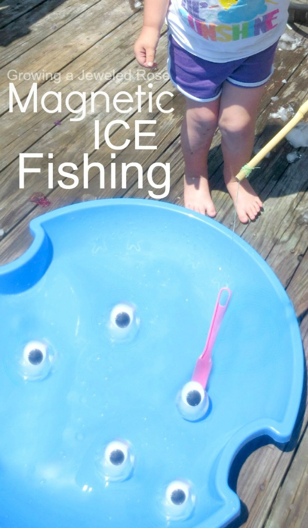 magnetic ice fishing