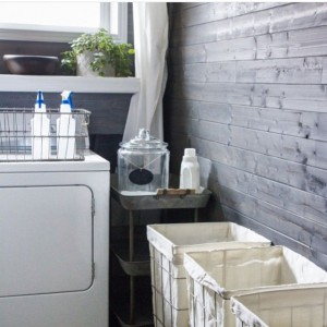I am in love with this laundry room by the…