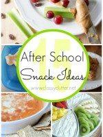 15 After School Snacks