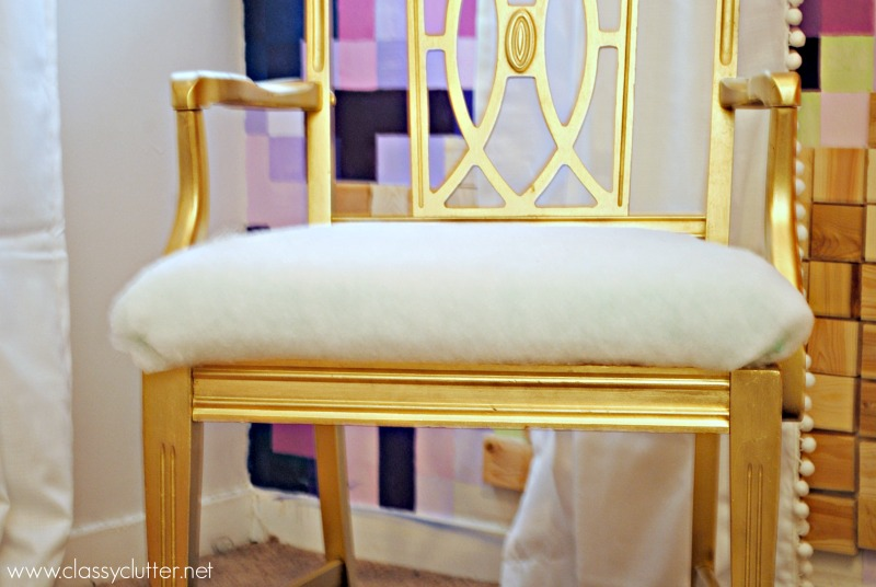 Fit cushion to chair frame