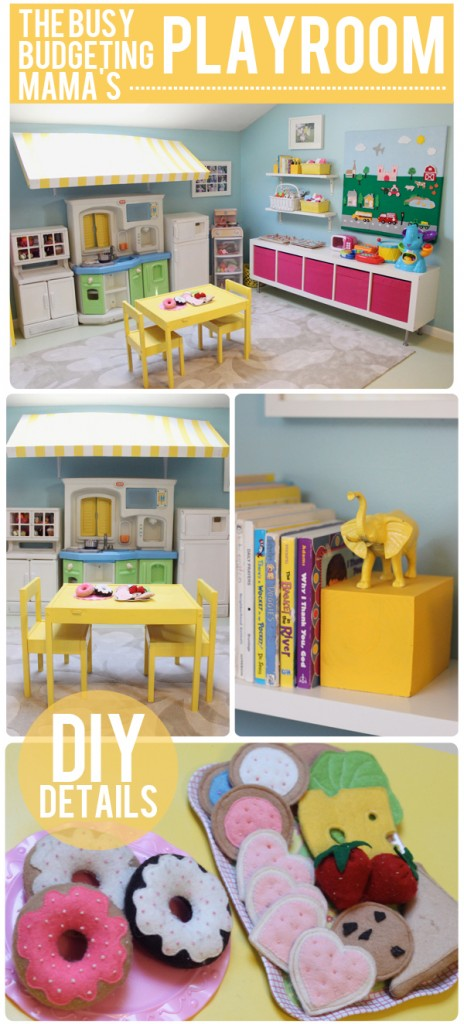 Black And White Playroom For Kids Toy Storage