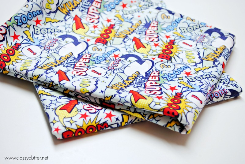 How to sew a pillow case