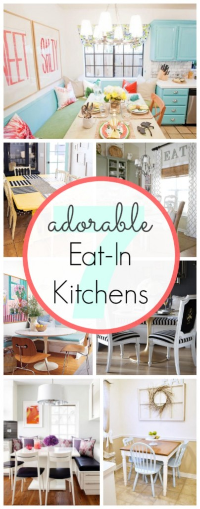 7 Adorable Eat-in Kitchens