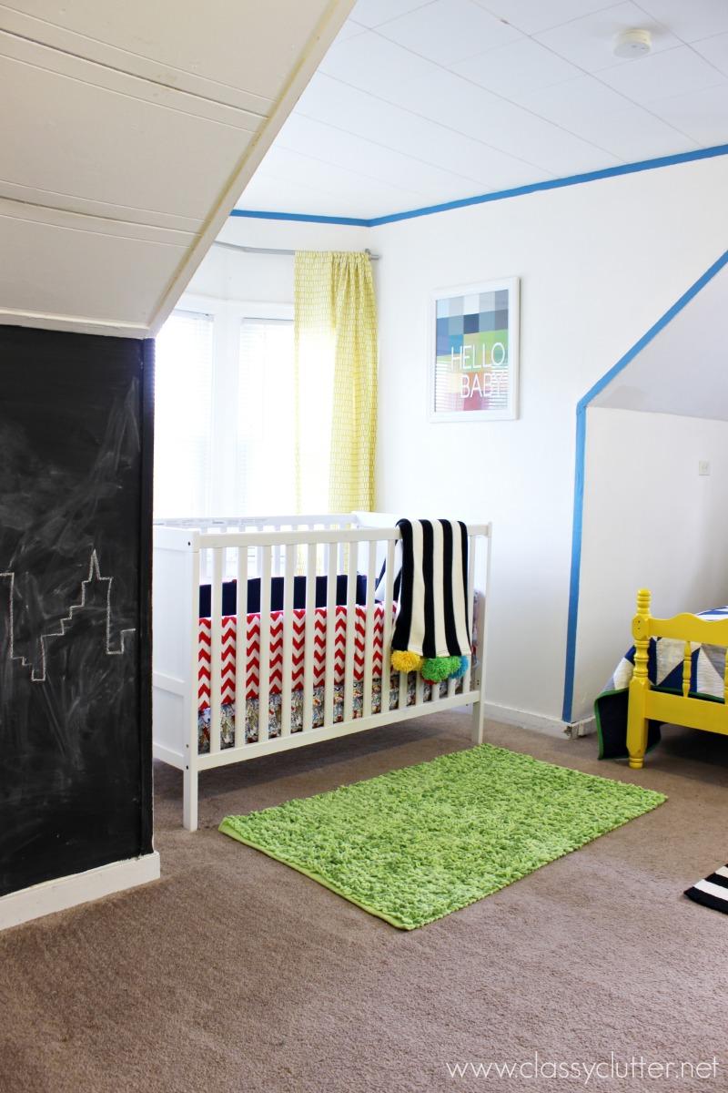 Boys Superhero Bedroom: Modern Superhero Boys Room