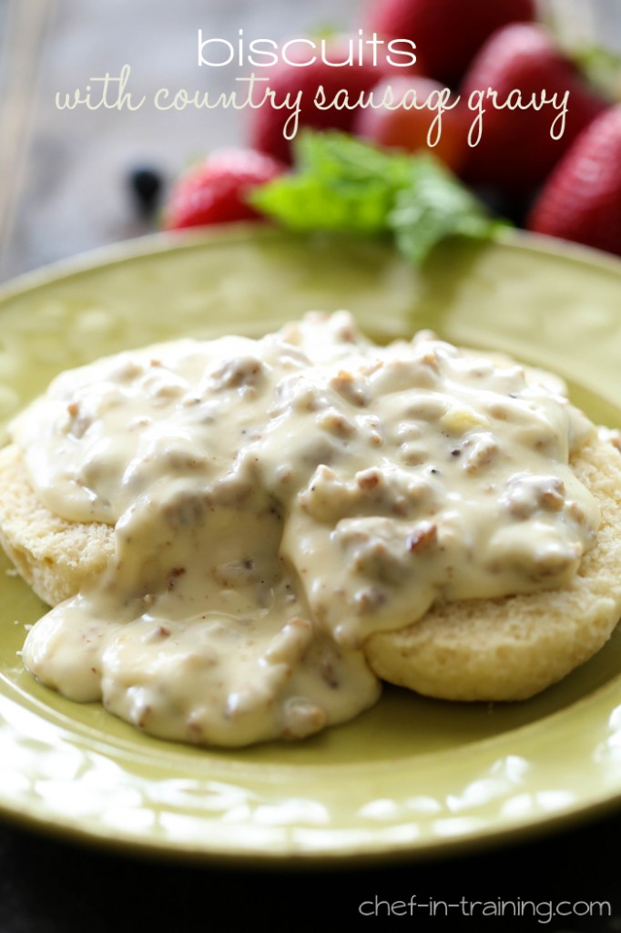Biscuits-with-Country-Sausage-Gravy