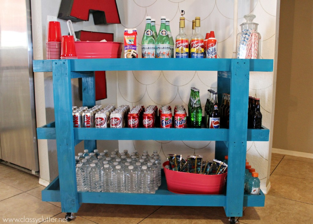 DIH Rolling Beverage Cart 5
