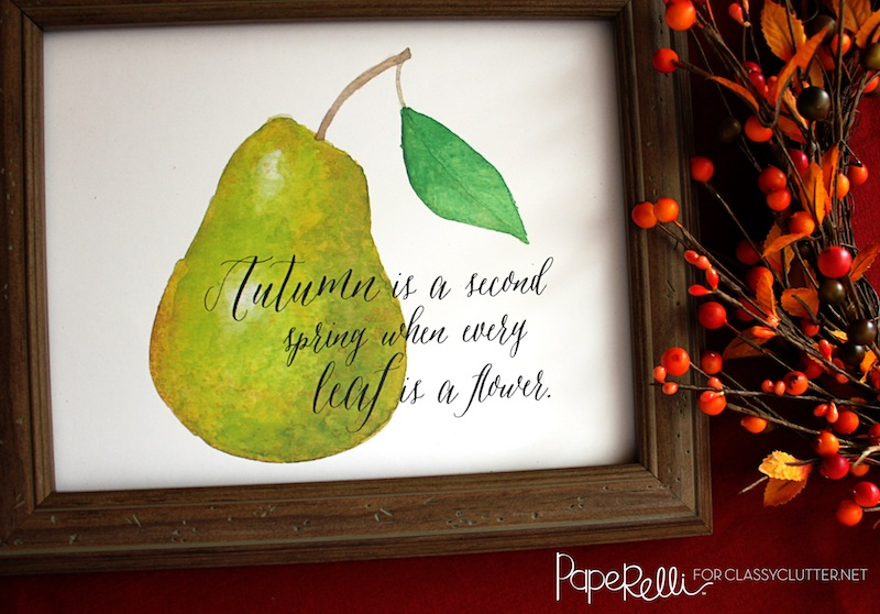 Fall Printable by Paperelli - Close Up (1)
