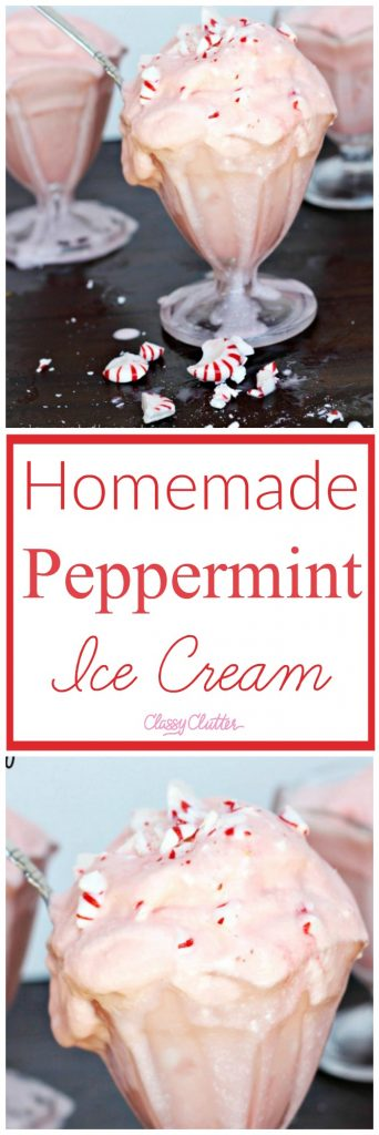 how to make peppermint ice cream from vanilla ice cream