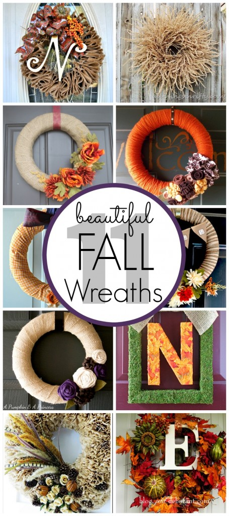 11 beautiful Fall Wreath ideas