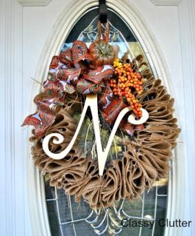 10+ DIY Fall Wreaths