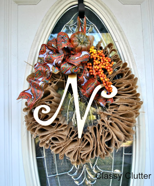 12 Easy Diy Deco Mesh Wreaths For Fall: DIY Fall Wreaths
