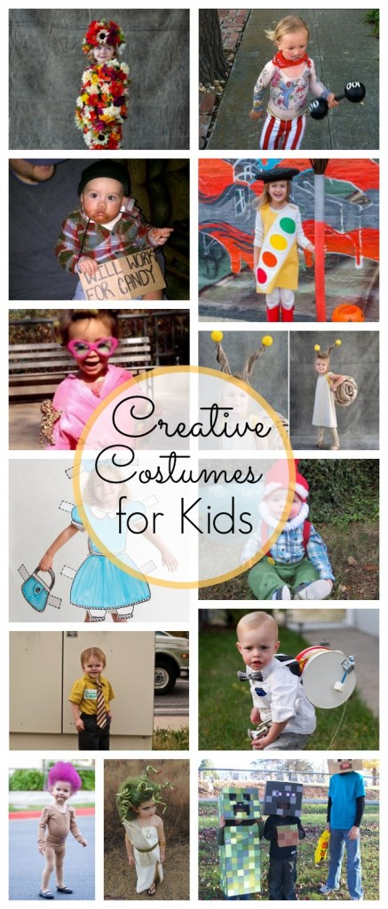 Creative Halloween Costumes for Kids