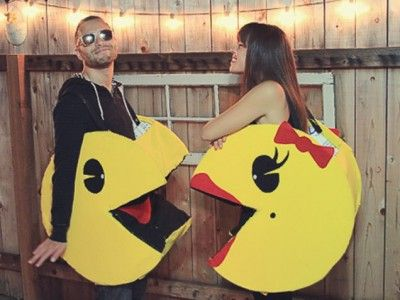 Pac Man Couples Halloween Costume
