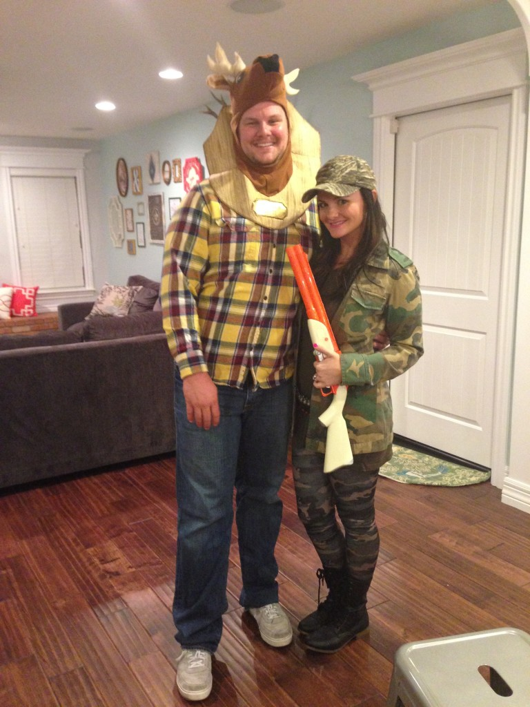 Deer and the Hunter Halloween Costume