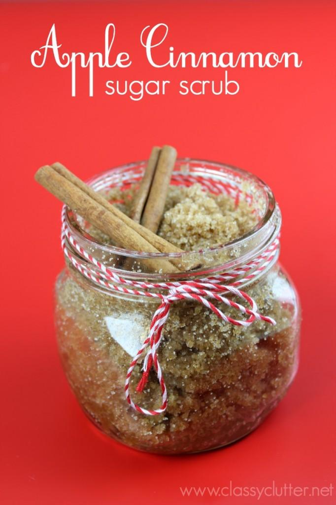Apple Cinnamon Sugar Scrub - Great gift idea!