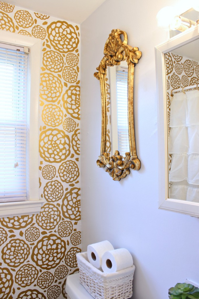 Glam Bathroom Makeover 2