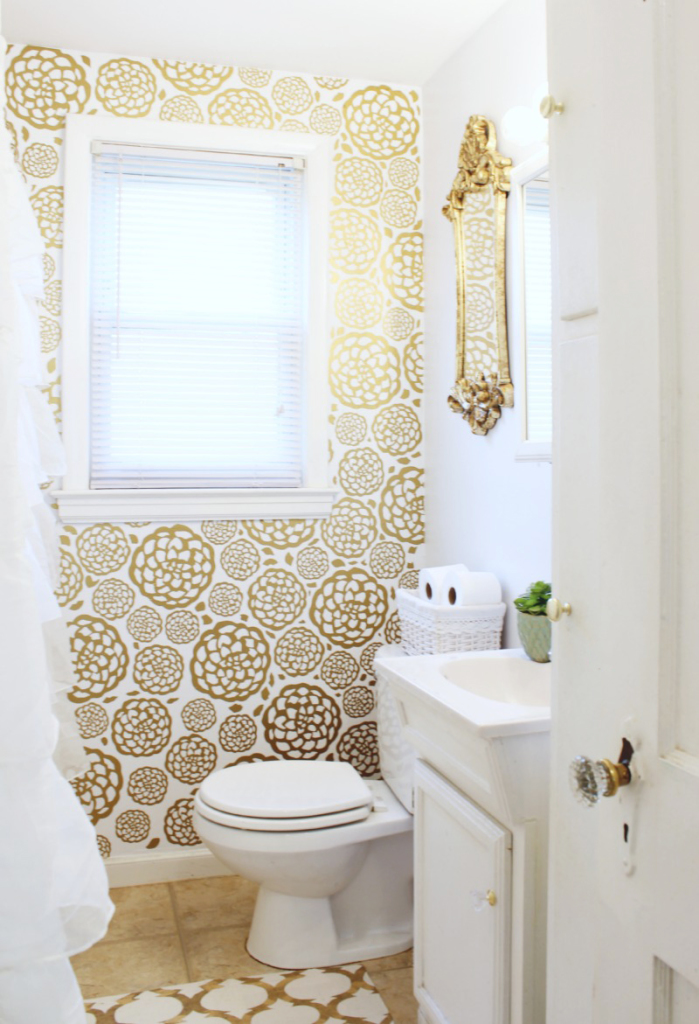 Glam Bathroom Makeover 3