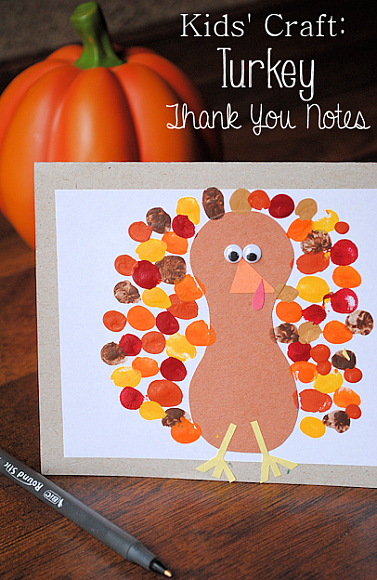 15 thanksgiving kids crafts classy clutter for Preschool turkey crafts easy