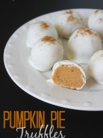 pumpkin truffle