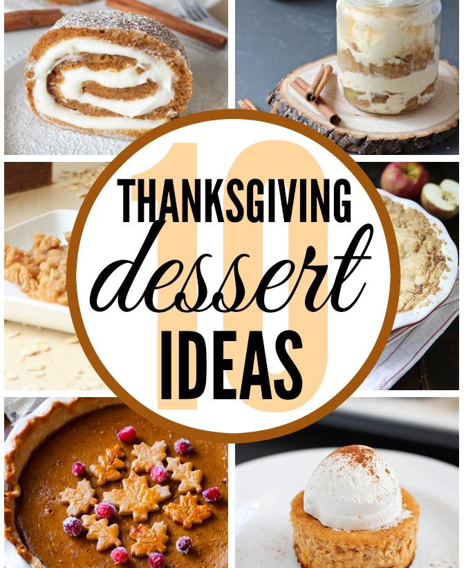 10 Thanksgiving Dessert Ideas - www.classyclutter.net