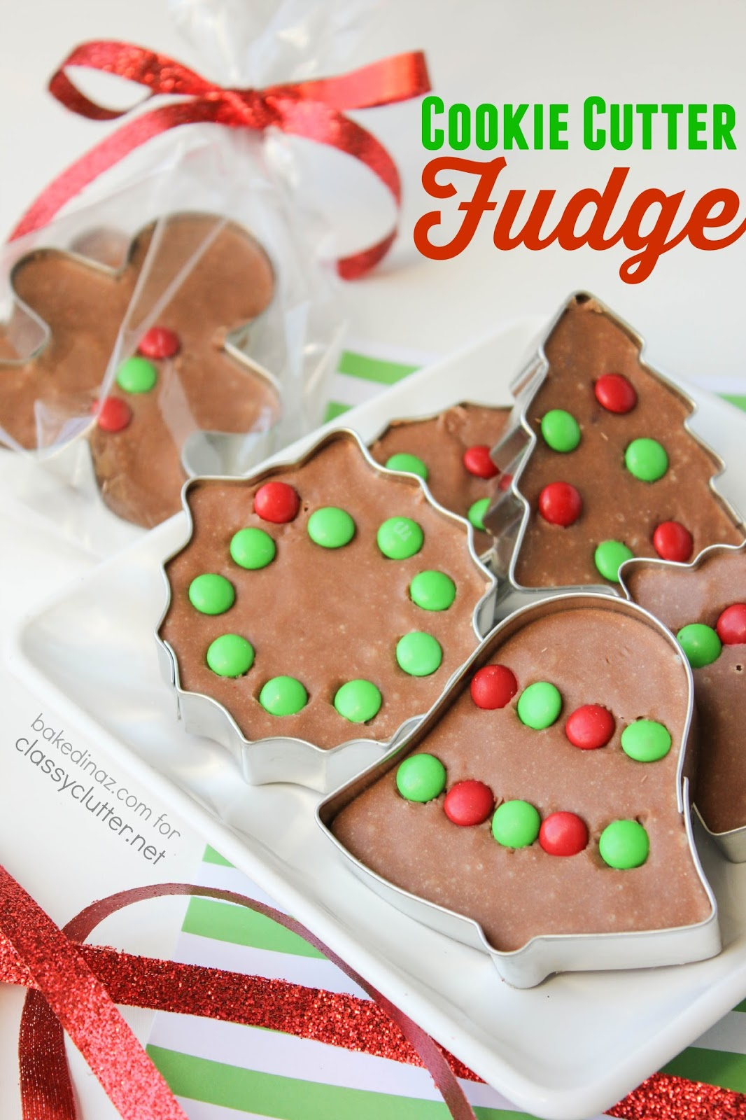 Cookie Cutter Fudge